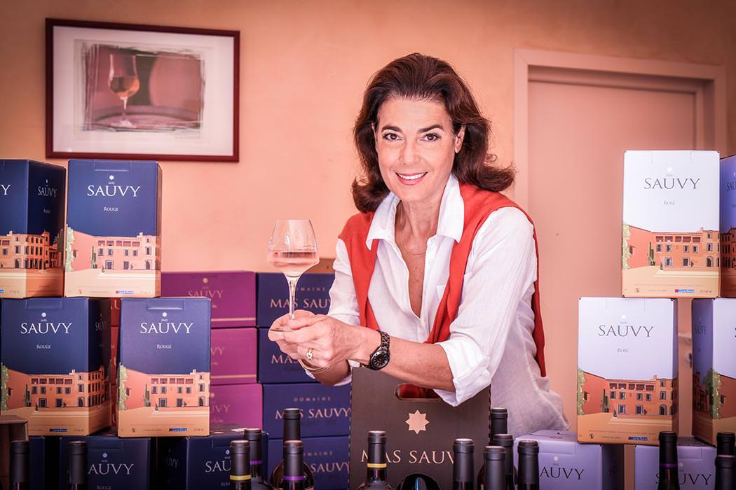 Présentation des vins du Mas Sauvy
