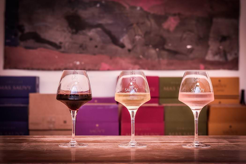 Les vins du Mas Sauvy